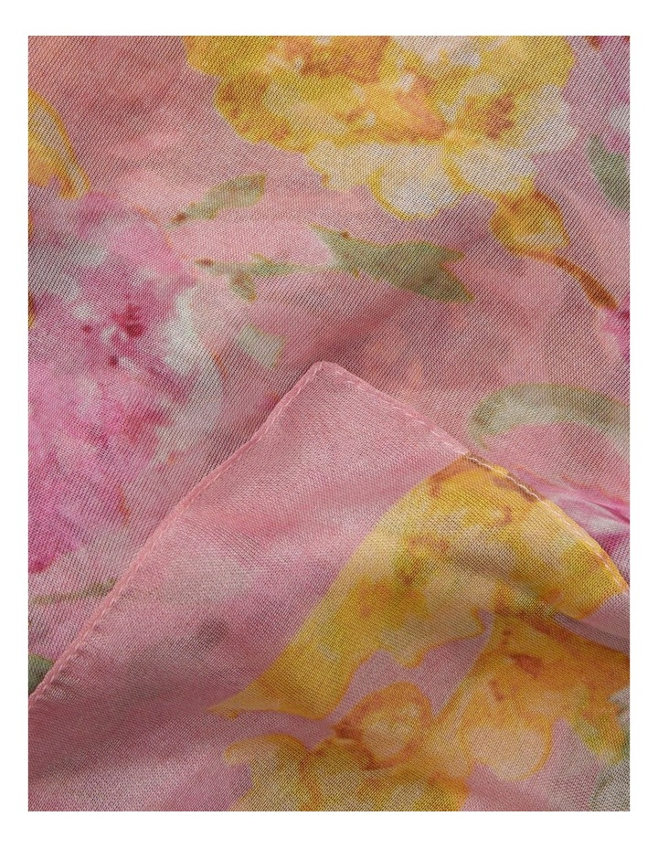 Floral Chiffon Scarf image 2