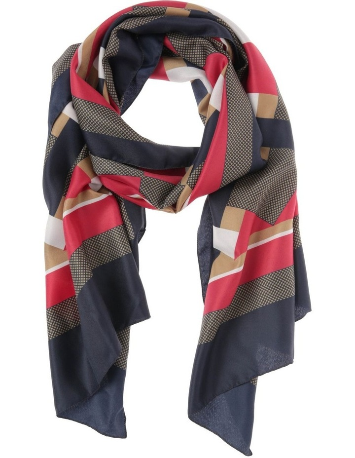 Lightweight Large Check Scarf image 1