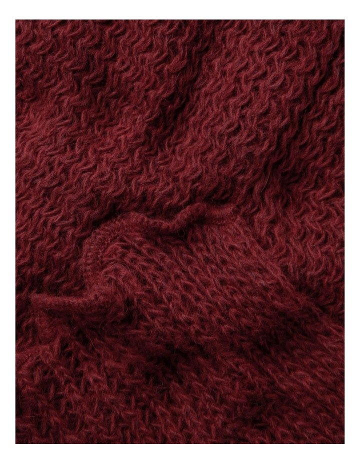 Open Stitch Stole Winter Scarf image 2