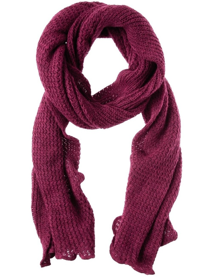 Open Stitch Mohair Stole Winter Scarf image 1