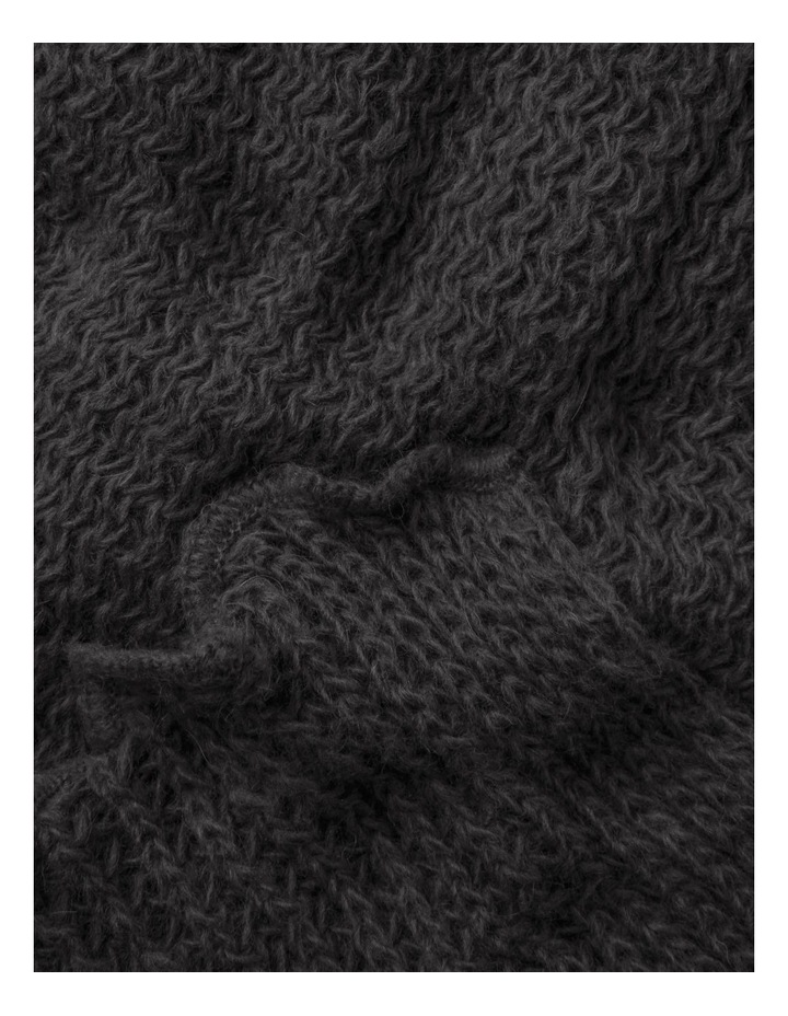 Open Stitch Mohair Stole Winter Scarf image 2