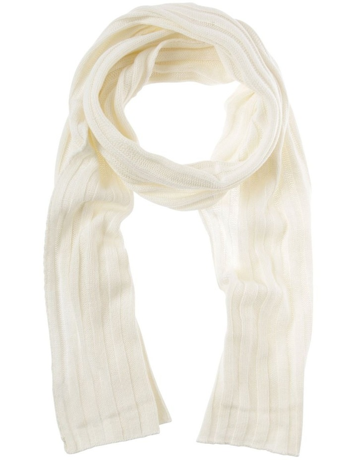 Cashmere Blend Knit Scarf image 1