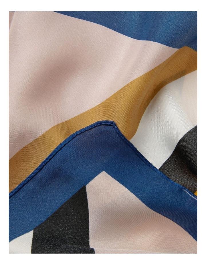 Colour-block Neckerchief Scarf image 2