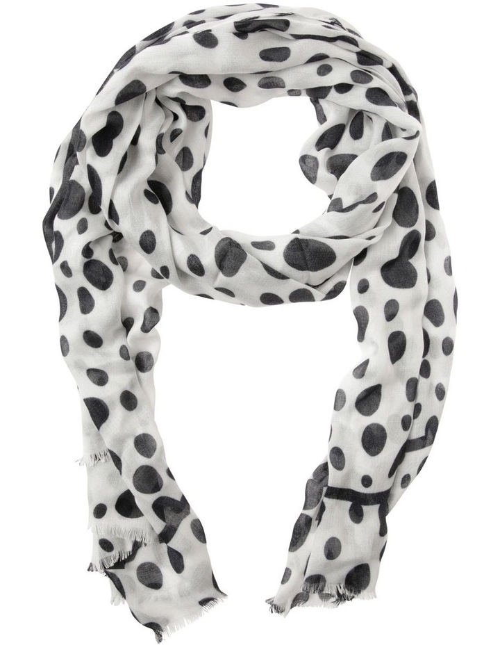 Trent Nathan Abstract Spot Print Scarf image 1