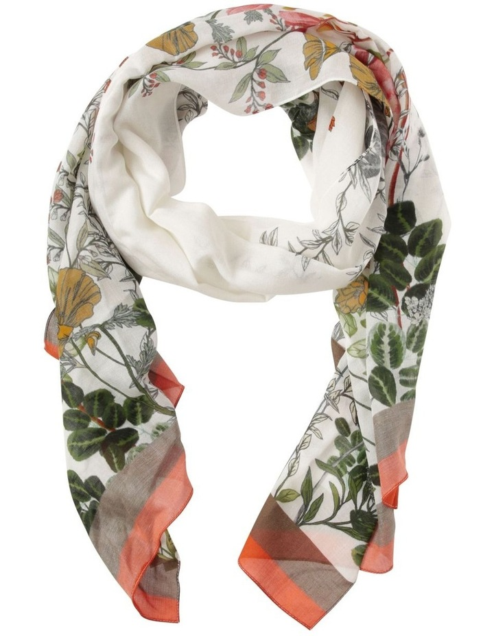 Innovare Made in Italy Border Floral Scarf image 1