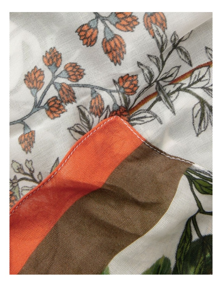 Innovare Made in Italy Border Floral Scarf image 2