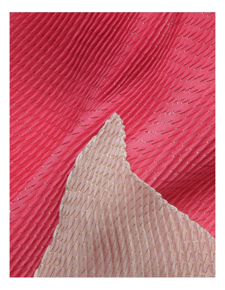 Innovare Made in Italy Lurex Pleated Scarf image 2