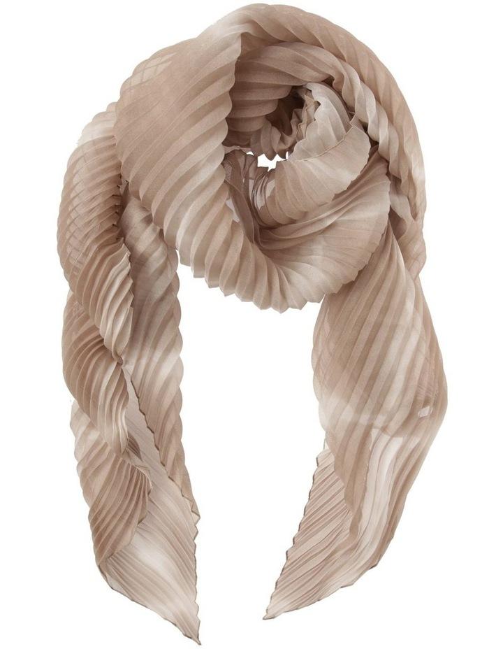 Pleated Tie-Dye Scarf image 1