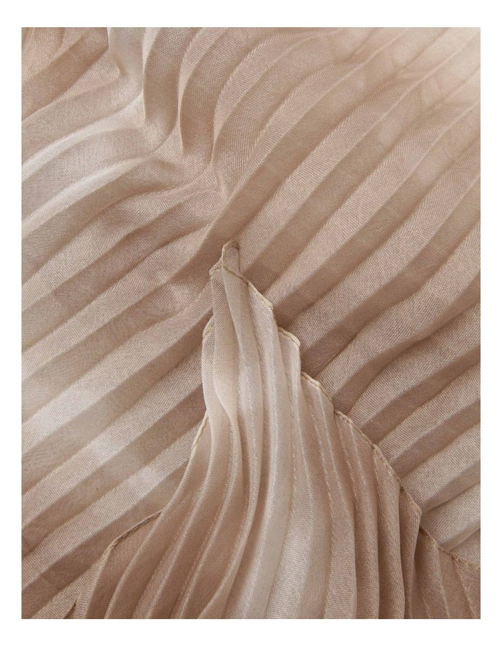 Pleated Tie-Dye Scarf image 2