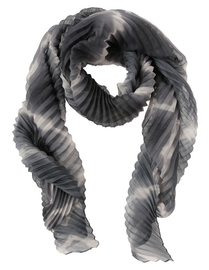 F5068-S6EP41 - H6826 Pleated Tie-Dye Scarf image 1