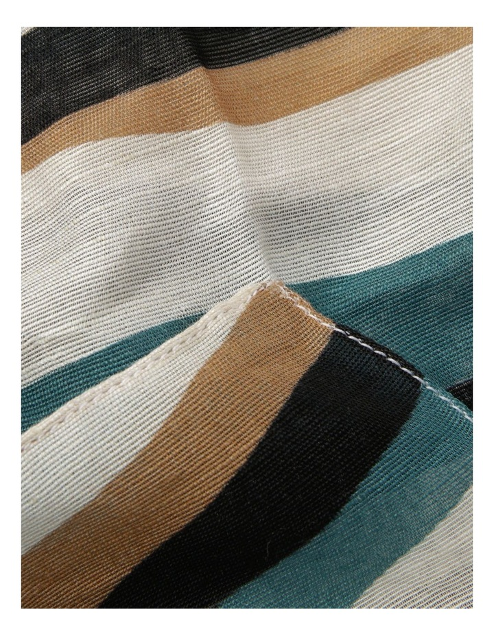 Innovare Made in Italy Wavy Stripe Scarf image 2