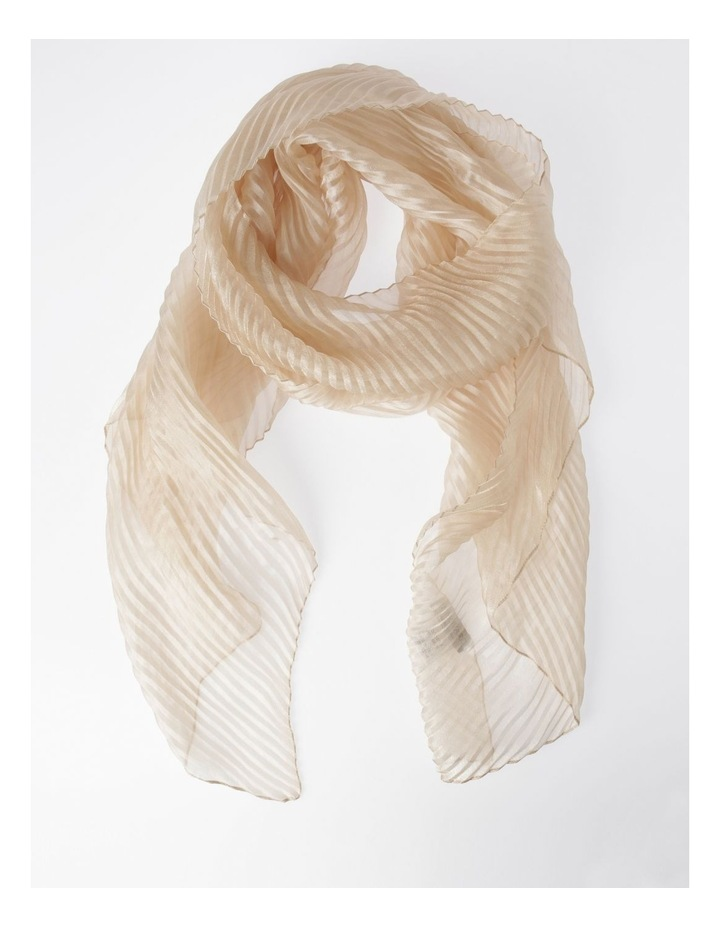 Pleated Shimmer Scarf image 1