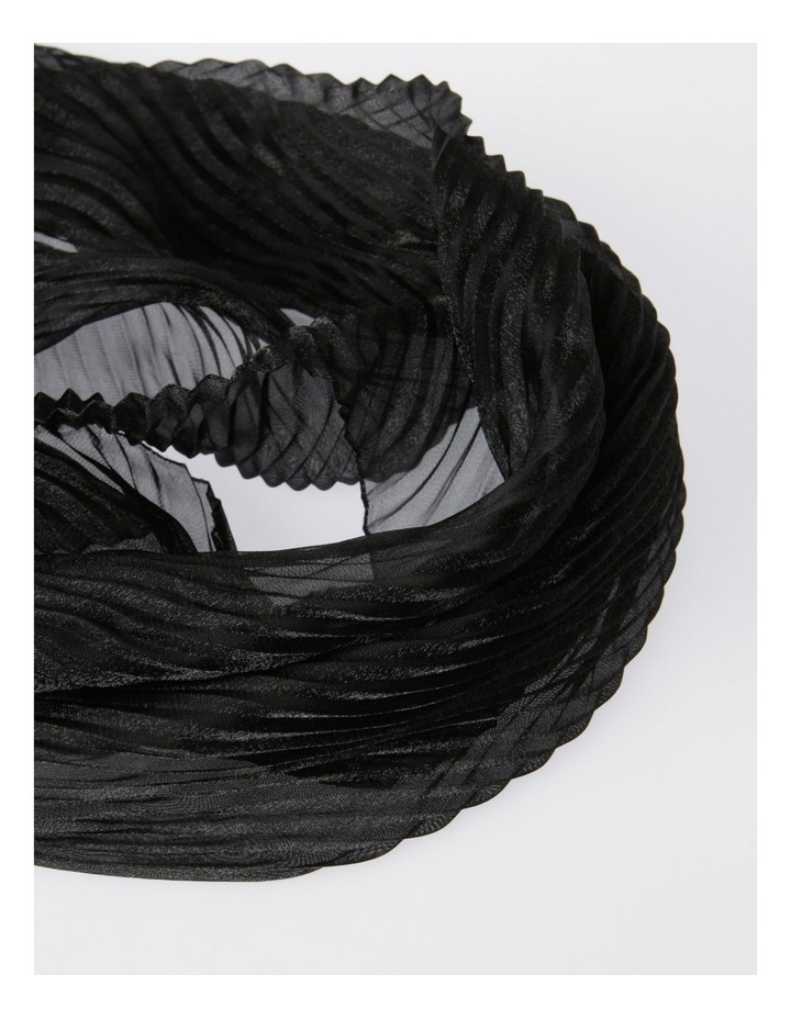 Pleated Shimmer Scarf image 2
