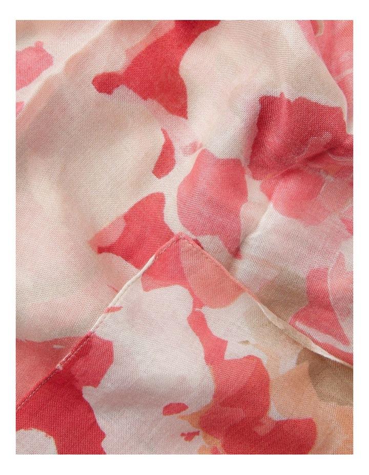 Waterflower Print Scarf image 2