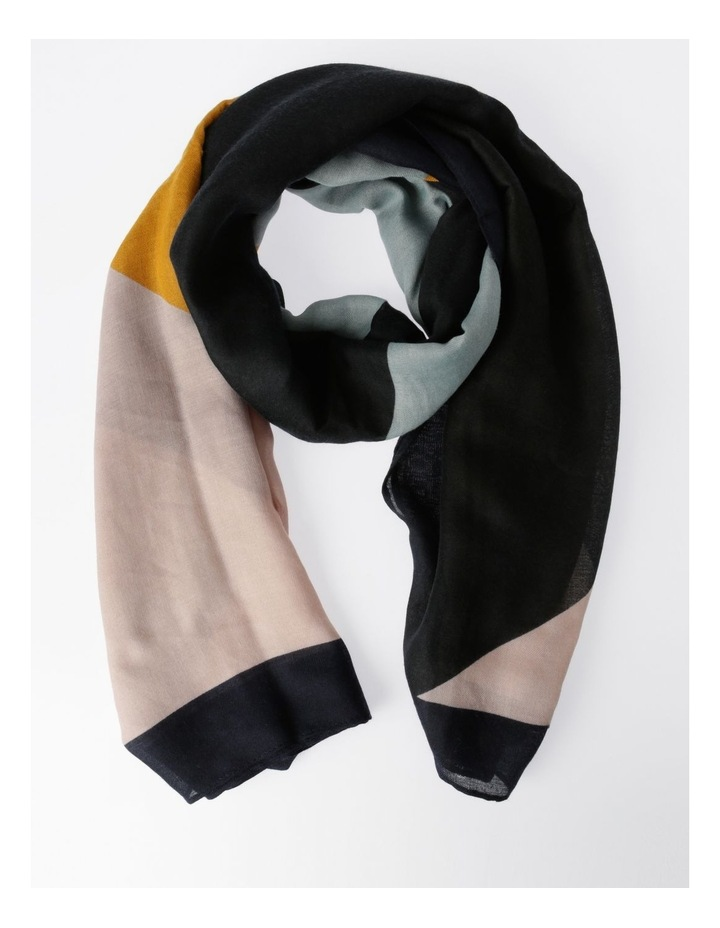FBSF20172-031 Colour Block Pastel Scarf image 1