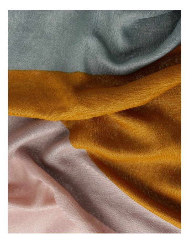 FBSF20172-031 Colour Block Pastel Scarf image 3