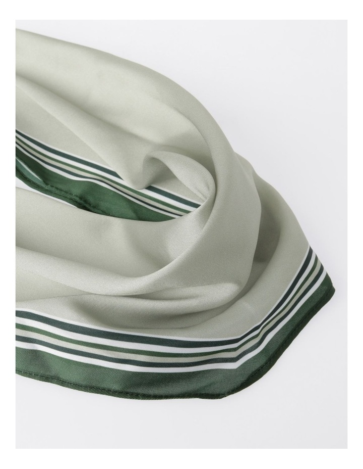 FBSF20155-031 Striped Edge Neckerchief Scarf image 2