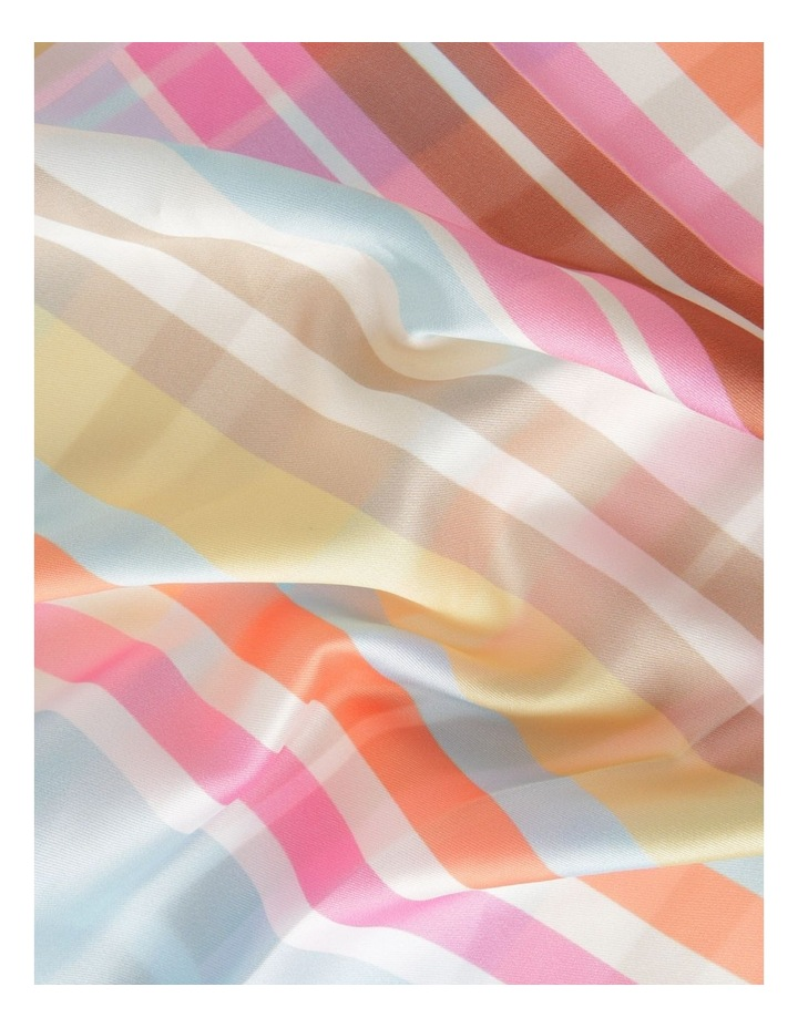 Abstract Print Neckerchief Scarf image 3
