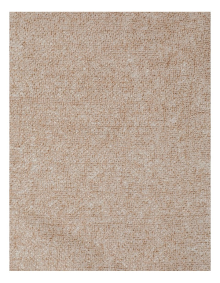 Tan Tonal Wool and Cashmere Scarf image 4