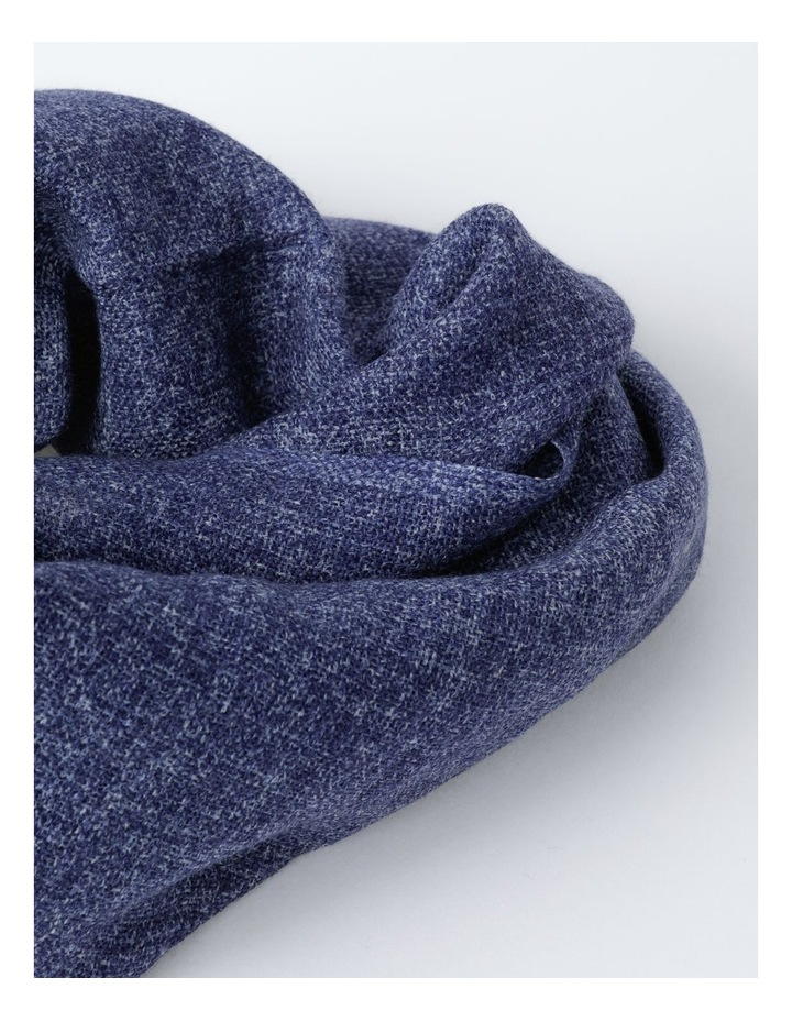 Midnight Tonal Wool and Cashmere Scarf image 2
