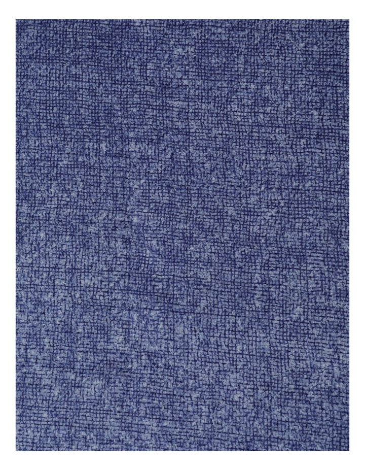 Midnight Tonal Wool and Cashmere Scarf image 4