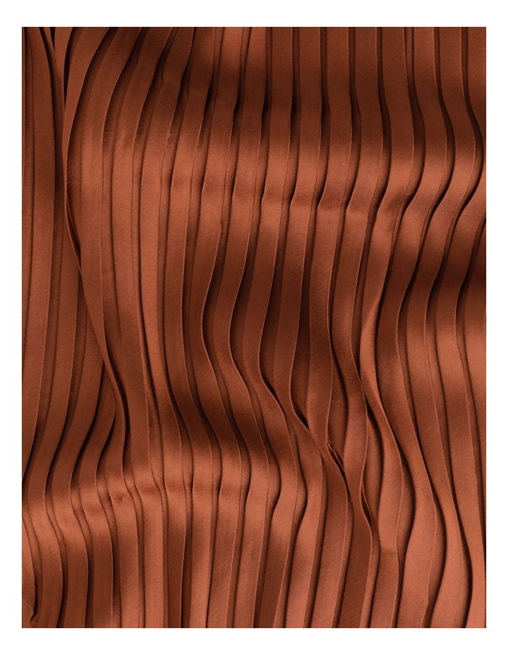 Silky Pleated Neckerchief  Scarf image 3