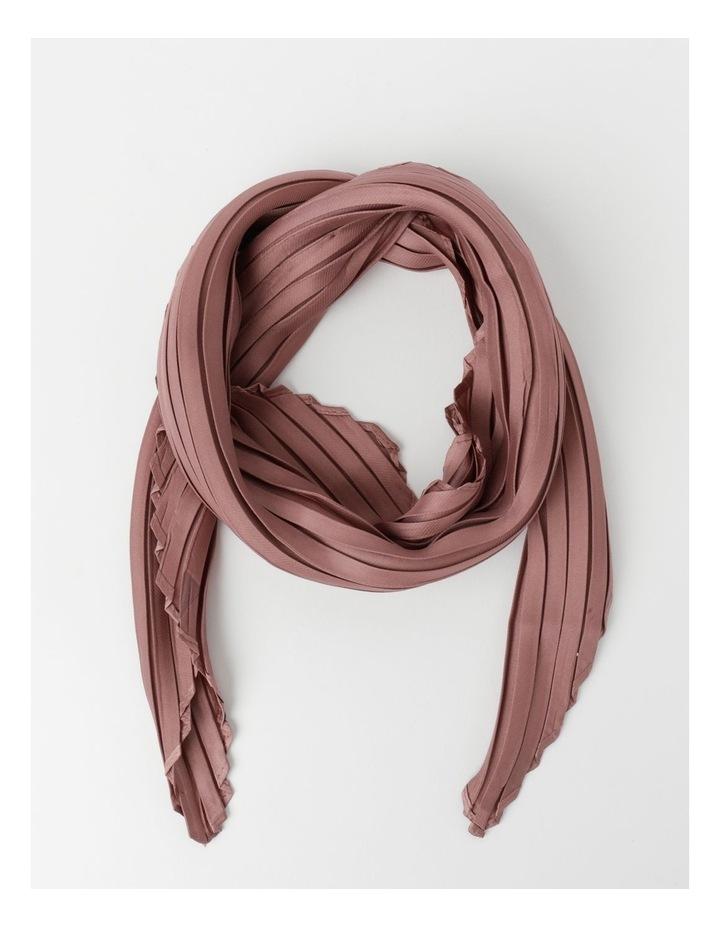 Silky Pleated Neckerchief  Scarf image 1