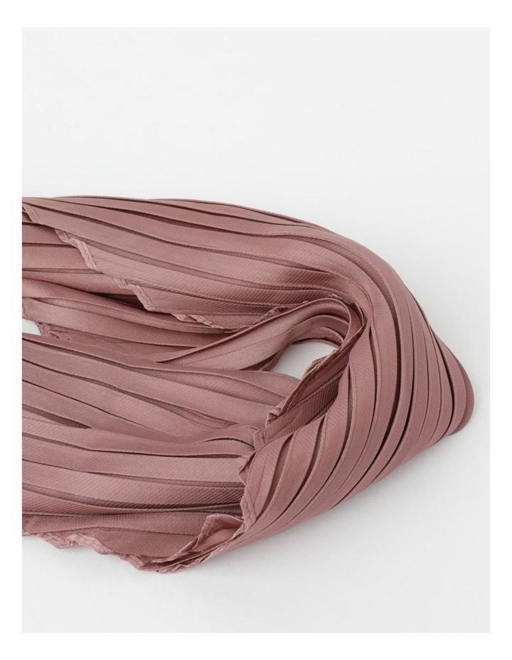 Silky Pleated Neckerchief  Scarf image 2