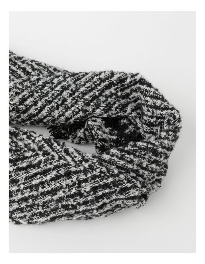 Herringbone Scarf Winter Scarf image 2