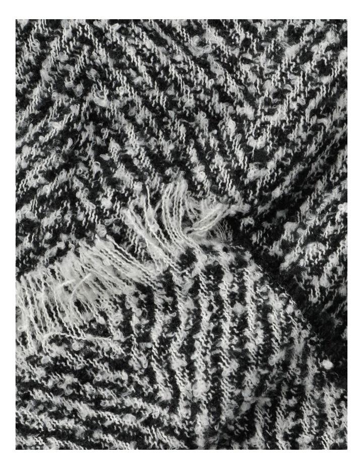 Herringbone Scarf Winter Scarf image 3