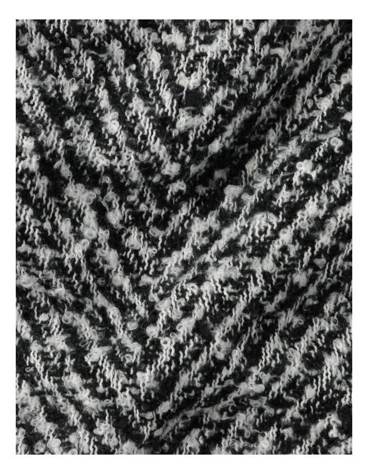 Herringbone Scarf Winter Scarf image 4
