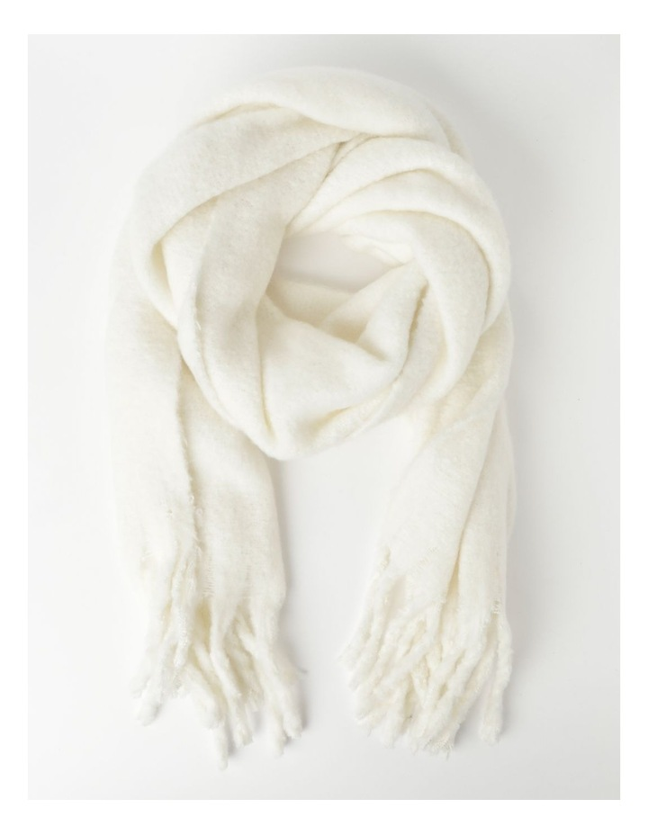 ZA4118A Fluffy Over Sized Scarf  Winter Scarf image 1