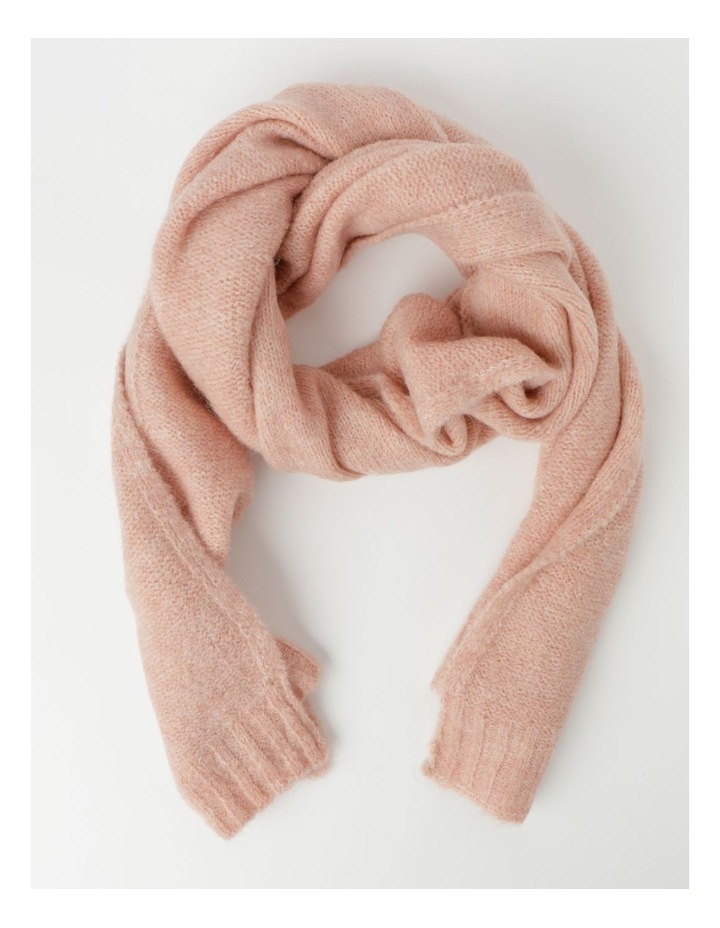 Warm Knitted Scarf Winter Scarf image 1