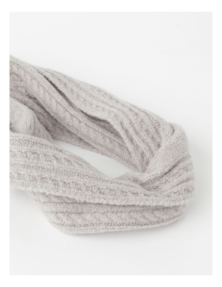 Cable Knit Scarf Winter Scarf image 2