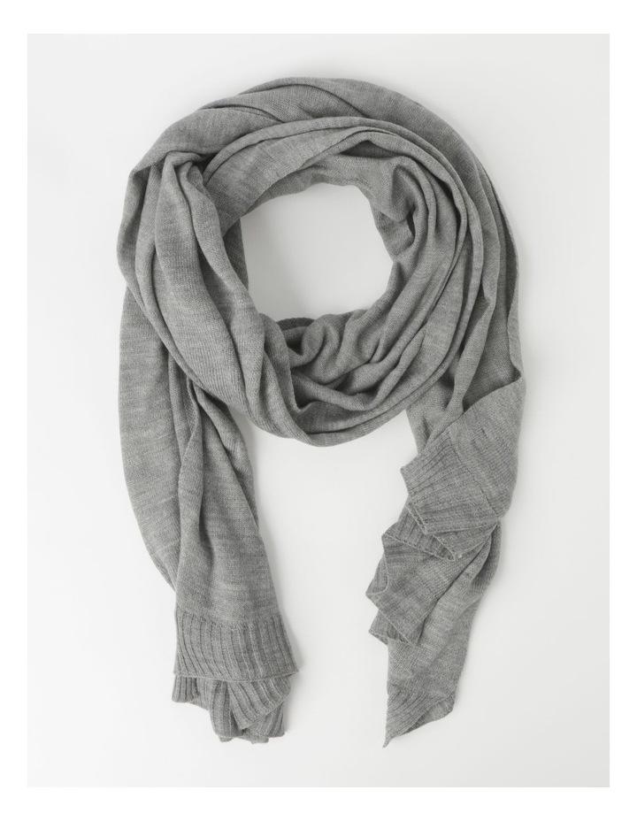Wool Blend Winter Scarf image 1