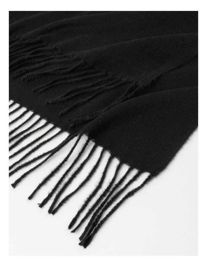 Pashminetta Black Scarf image 2
