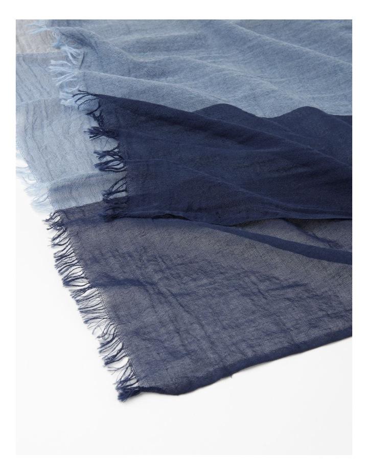 Colour Block Blues Scarf image 2