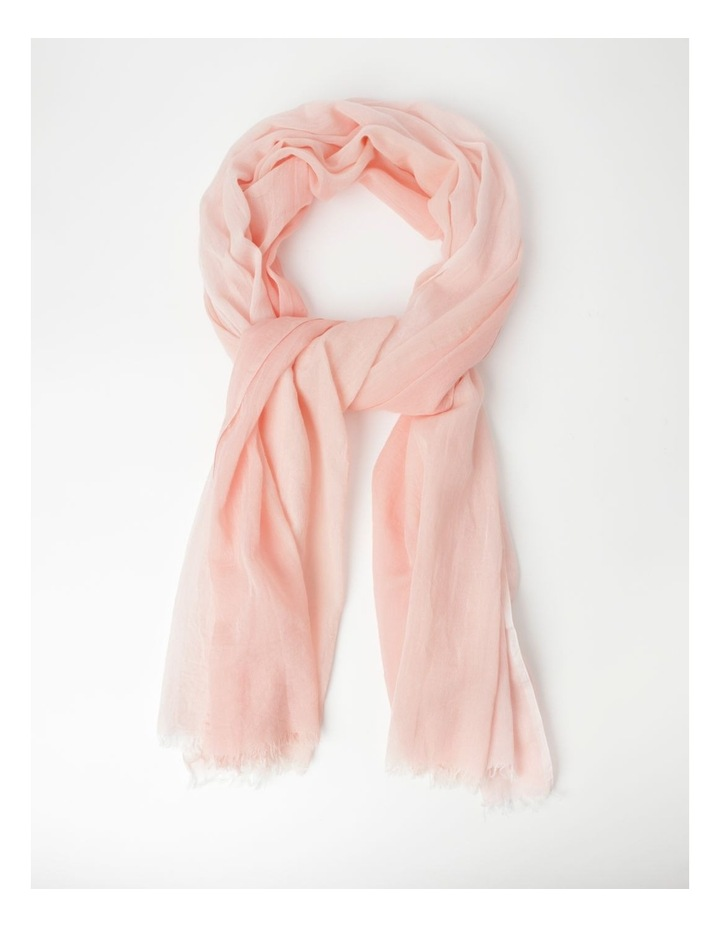 Colour Block Pink Scarf image 1