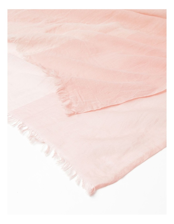 Colour Block Pink Scarf image 2