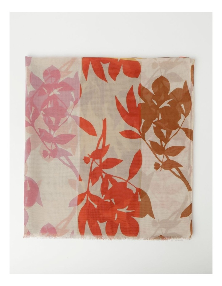 Floral Print Cream Scarf image 3