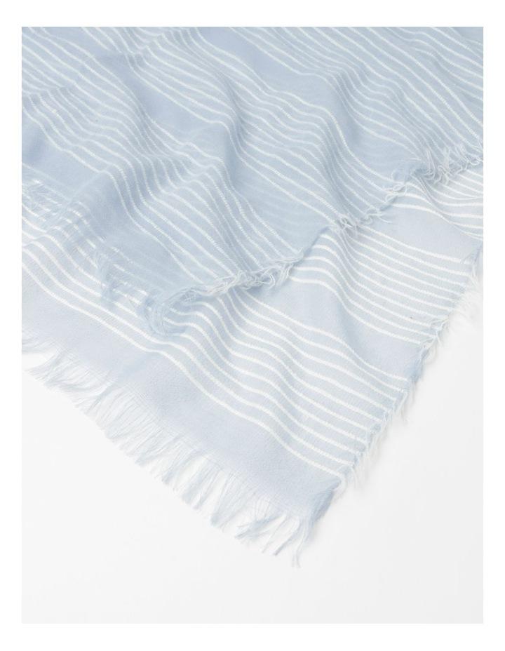 Stripe Blue Scarf image 2
