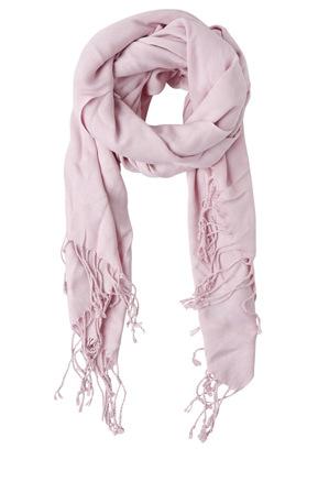 Basque - Pashminetta Tassel  Lilac Wrap