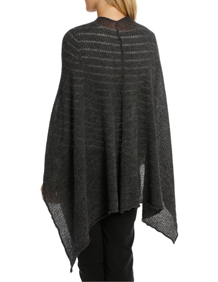 Open Knit Poncho 1820 image 2