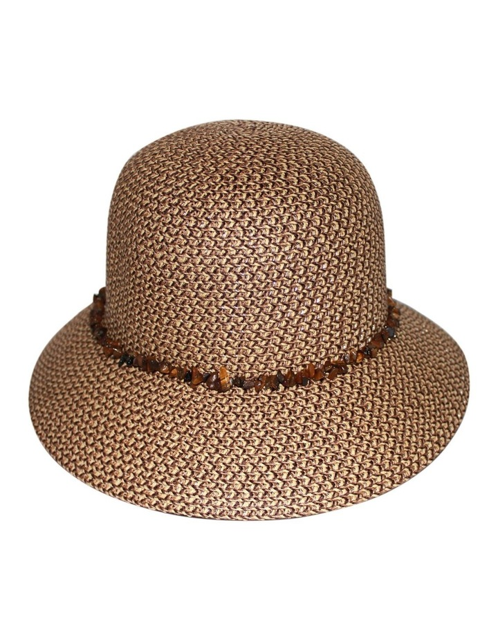 Own Bucket Hat With Stone Trim RL30M image 1