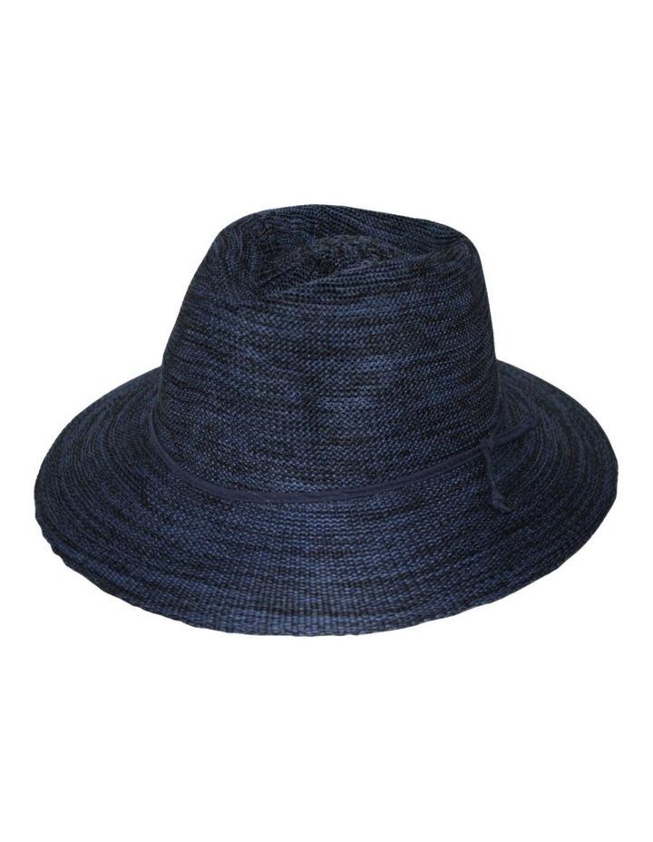 Rigon Wash & Wear Fedora Mixed Navy RL73 Hat image 2