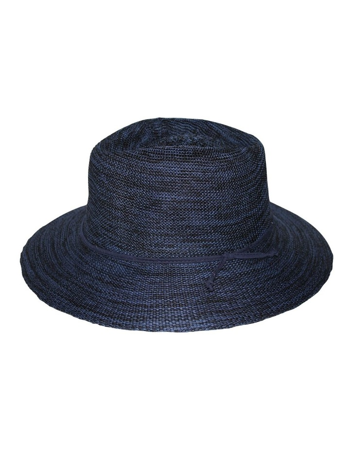 Rigon Wash & Wear Fedora Mixed Navy RL73 Hat image 3