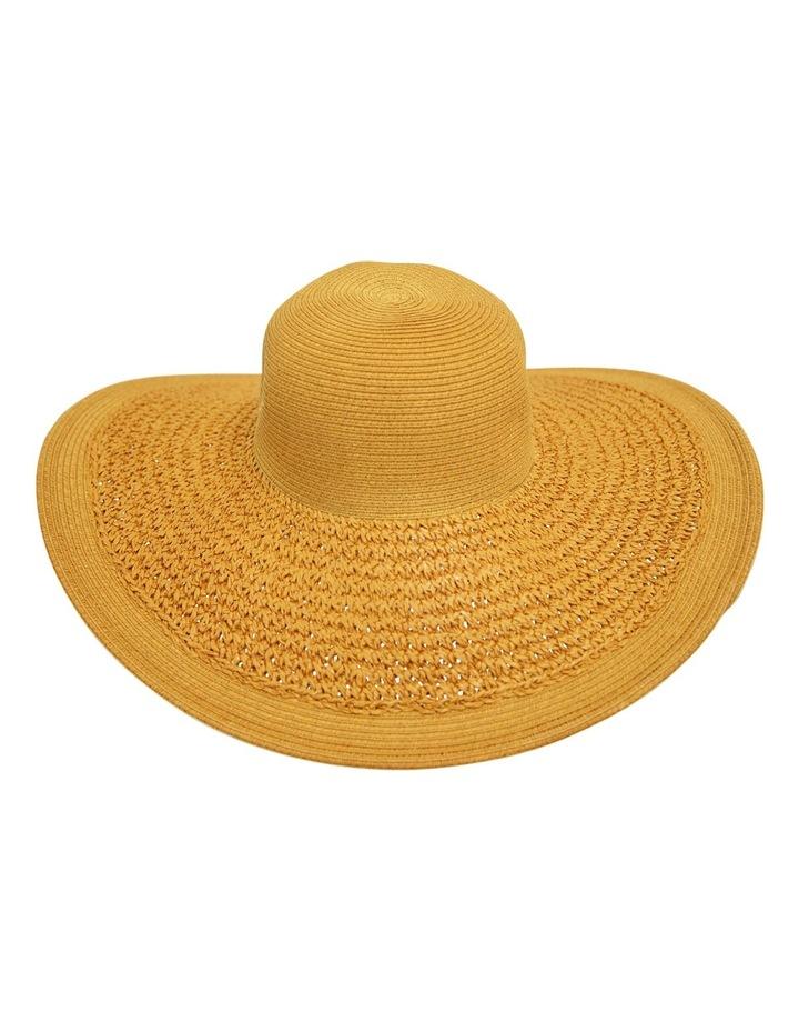 faa542727520 Crochet Weave Brim Floppy Hat image 1