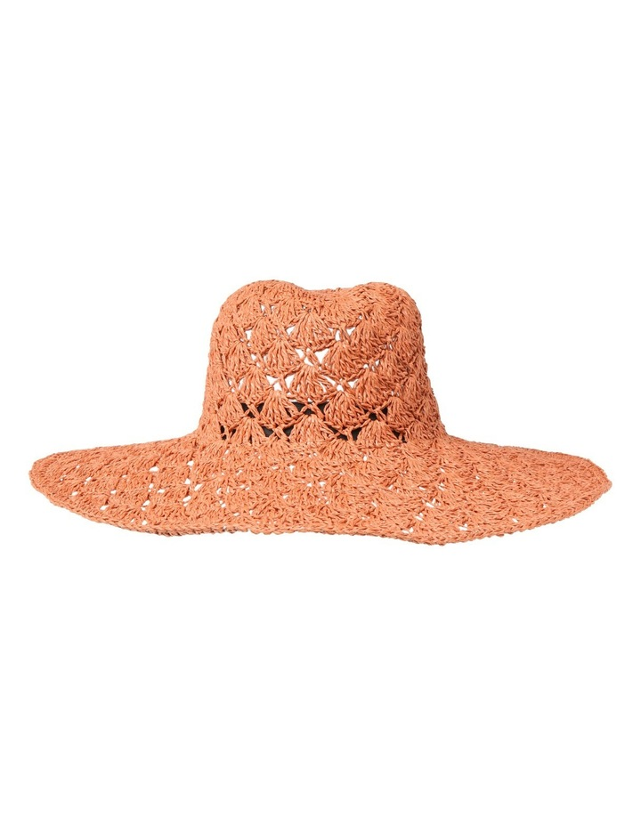 Rust Shell Crochet Hat image 1 3958d5ad4be