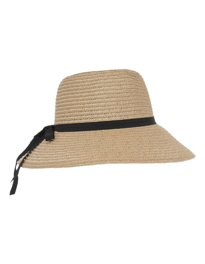 Classic Style Sun Hat W Narrow Band Bow And Tails image 2