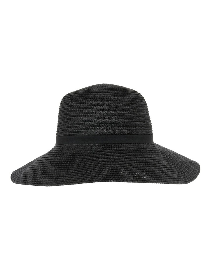 Classic Style Sun Hat W Narrow Band Bow And Tails image 1